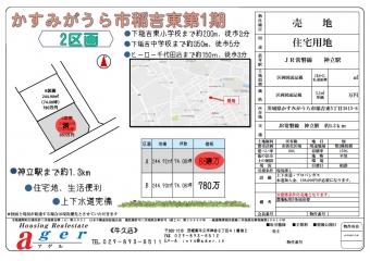 かすみがうら市稲吉東第1期(2区画)