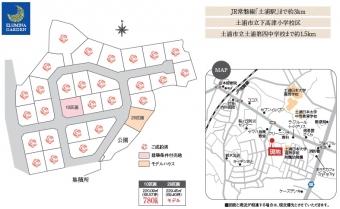 土浦市桜ヶ丘(全29区画)