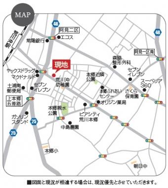 阿見町荒川本郷(全2区画)map