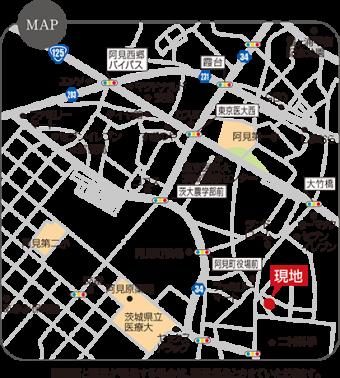 阿見町中央6丁目(全3区画)map