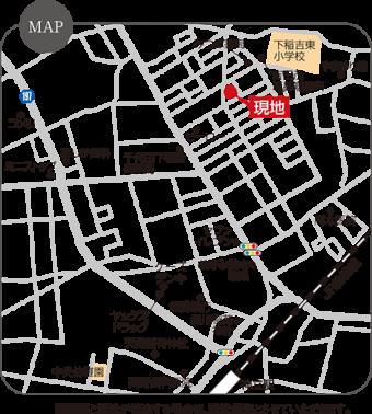かすみがうら市稲吉東第1期(2区画)map