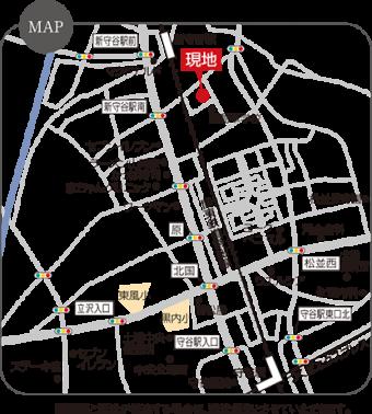 守谷市松並(全4区画)map