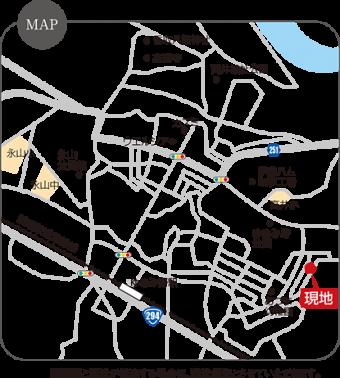 取手市ゆめみ野2丁目(全11区画)map