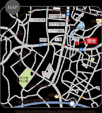 つくば市学園南3丁目(全16区画)map