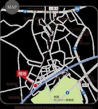 つくば市みどりの南第2期(全15区画)map