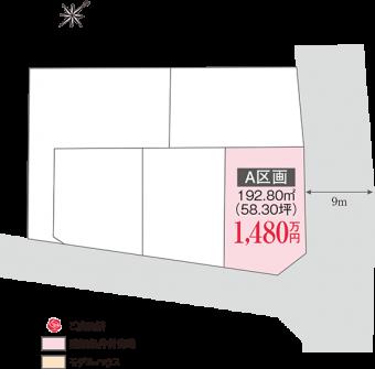 牛久市ひたち野東3丁目(全1区画)kukaku