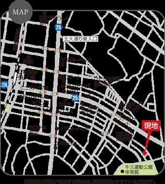 牛久市ひたち野東3丁目(全1区画)map