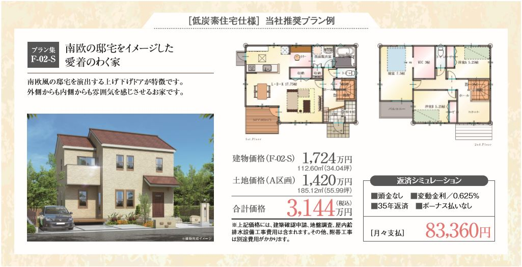 つくばみらい市富士見ヶ丘3丁目(全6区画) お支払いプラン