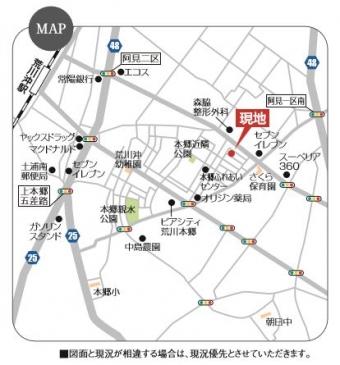 阿見町本郷(全2区画)map