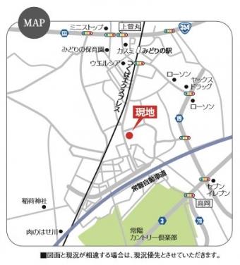 めばえテラス(全7区画)map