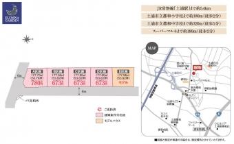 土浦市並木5丁目(全5区画)top