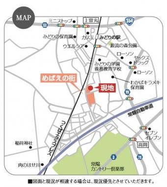 めばえヴィレッジ(全10区画)map