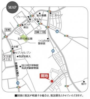 つくば市流星台(東岡)(全1区画)map