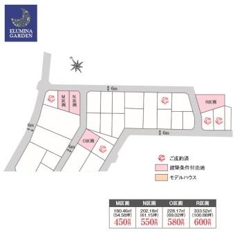 取手市ゆめみ野5丁目(全9区画)kukaku