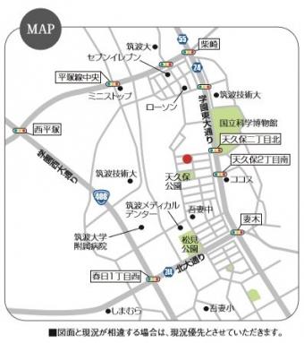 つくば市天久保(全1区画)map
