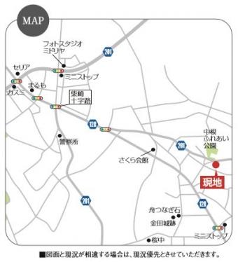 つくば市横町第1期(全4区画)_マップ
