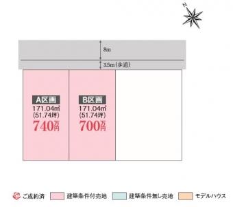 木田余東町(全2区画)kukaku