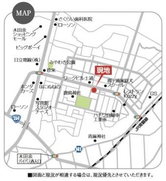 木田余東町(全2区画)map