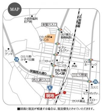 牛久市ひたち野東5丁目(全1区画)map