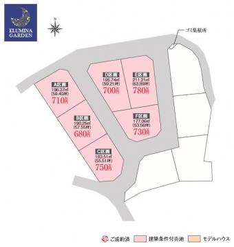 牛久市田宮町(全6区画)kukaku