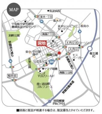 つくば市大角豆(全2区画)map