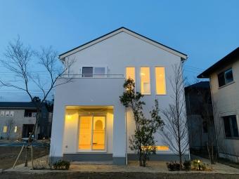 おしゃれな北欧ナチュラル塗り壁の家